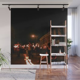 Fire and Flames Wall Mural