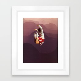 CHEERFUL Framed Art Print