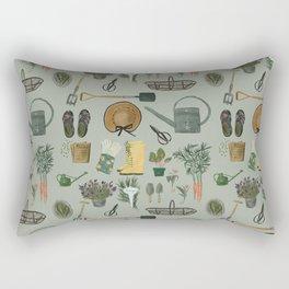 Garden Tools Rectangular Pillow
