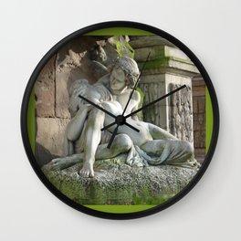 Medici Fountain Lovers - Acis and Galatea Wall Clock