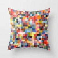 sprinkles Throw Pillows featuring Sprinkles by Stuff.