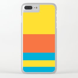 Colours of Bart Clear iPhone Case