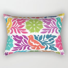 Chiapas Embroidery Rectangular Pillow