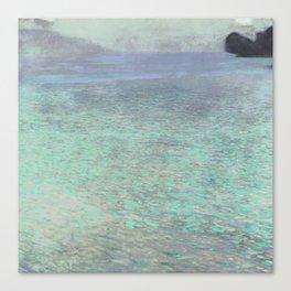 Klimt at Attersee Canvas Print