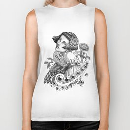 The Owl Maiden Biker Tank