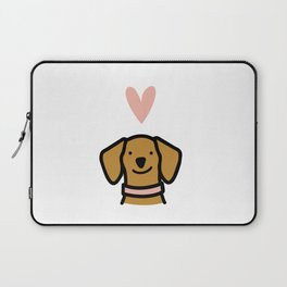 Dachshund Love Laptop Sleeve