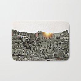 Sassi di Matera: view Bath Mat
