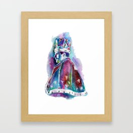 King Queen Framed Art Print