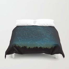 There IS somebody out there! Duvet Cover