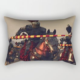 Medieval Chivalry Rectangular Pillow