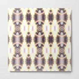 Feathered Mandala Metal Print