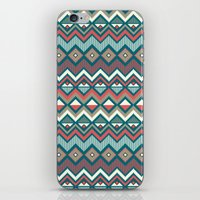 aztec iPhone & iPod Skins featuring Aztec. by Priscila Peress