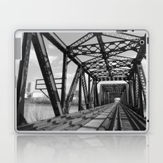 Train Bridge 3 - B&W Laptop & iPad Skin