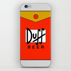Duff Beer! iPhone & iPod Skin