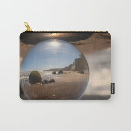 Beach Ball refraction photography with crystal ball Carry-All Pouch