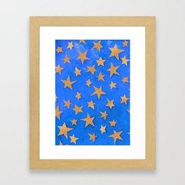 The Stars of Saint Chapelle Framed Art Print
