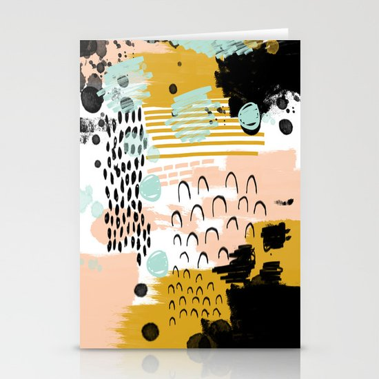 Ames Abstract Painting In Free Style With Modern Colors