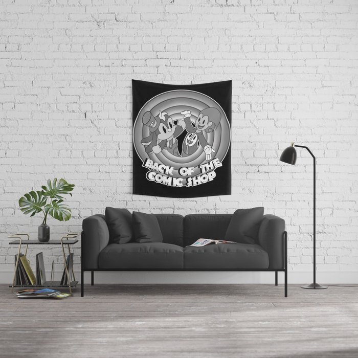 Classic Toonz Gizmo and Bunny Wall Tapestry