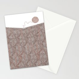 Knitting experience Stationery Cards
