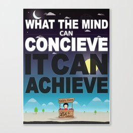 Mind Poster Canvas Print