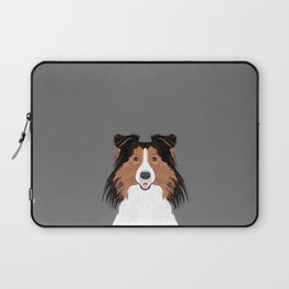 Jordan - Shetland Sheep Dog gifts for sheltie owners and dog people gift ideas perfect dog gifts Laptop Sleeve