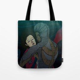 Fluid love Tote Bag