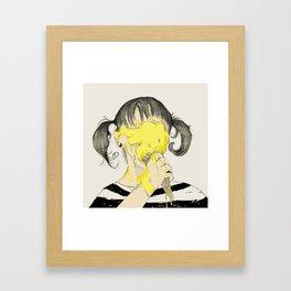 BB cream Framed Art Print