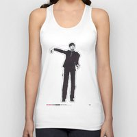 les mis Tank Tops featuring Mis-Shapes by Popp Art