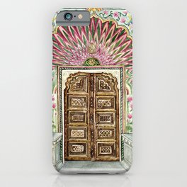 The Lotus Gate Jaipur iPhone Case