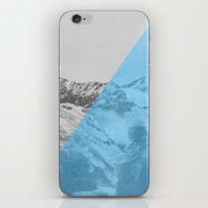 NEON NATURE | Blue iPhone & iPod Skin