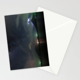 Milky Way Volcanoes Stationery Cards