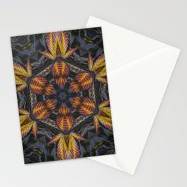 Hexagon Leaf Stationery Cards
