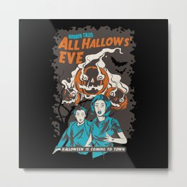 Halloween Horror Movie Fan Metal Print