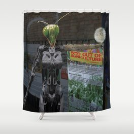 Stopp GMO Shower Curtain