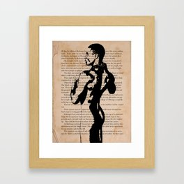His Weapons Had Disappeared Framed Art Print