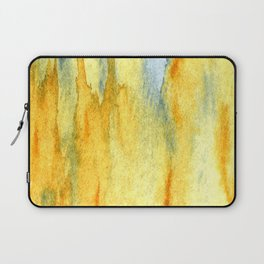 Earth toned abstract Laptop Sleeve