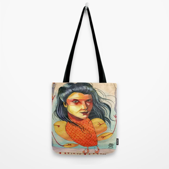 FIRE BIRD Tote Bag