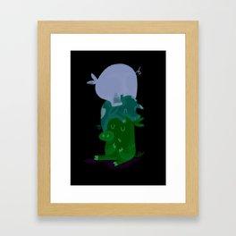 Little pigs Framed Art Print