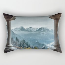 The view - Neuschwanstin casle Rectangular Pillow