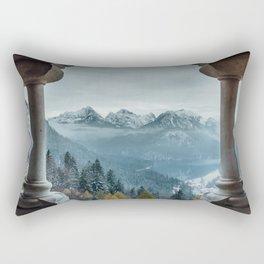 The view - Neuschwanstin casle Rectangular Pillow