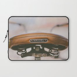 Vintage Bike Saddle Laptop Sleeve