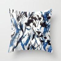 flight Throw Pillows featuring FLIGHT by Teresa Chipperfield Studios