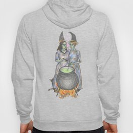 lesbian witches Hoody