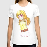 magical girl T-shirts featuring The girl  by Tilanie-Chan