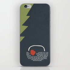 red apple iPhone & iPod Skin