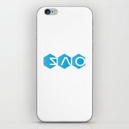 Sword Art Online: Logo (Version 2) iPhone Skin