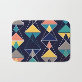 Triangular Affair III Bath Mat