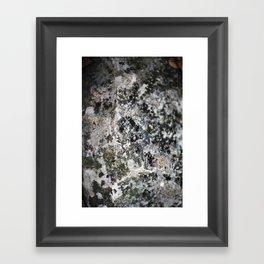 Weathered Rock  Framed Art Print