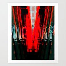 VICTORY-V Art Print
