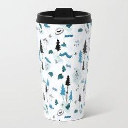 Aliens in the Woods Travel Mug
